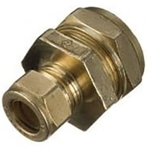 Compression Reducing Straight Connector