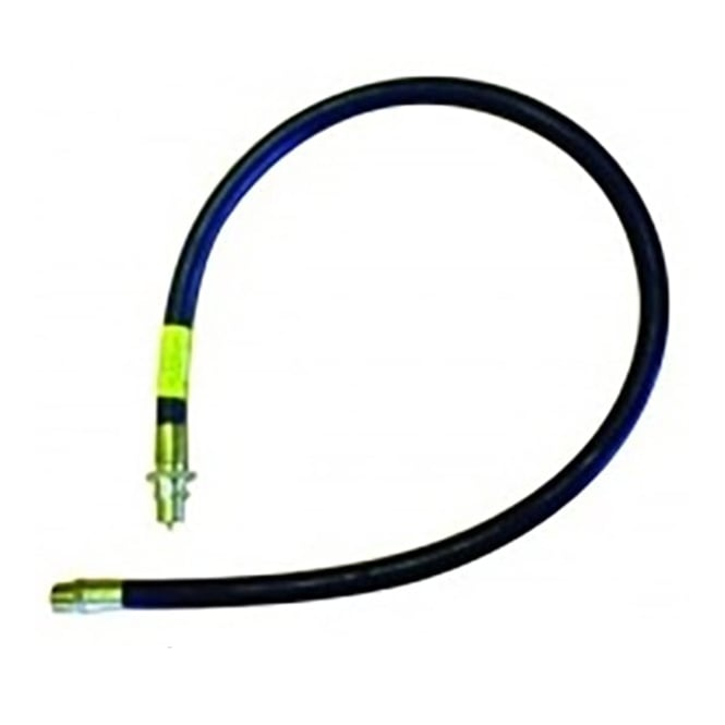 JTM Cooker hose with straight bayonet fitting (natural gas)