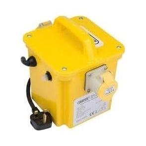 DPT100/1B 1KVA 230V TO 110V Portable Site Transformer