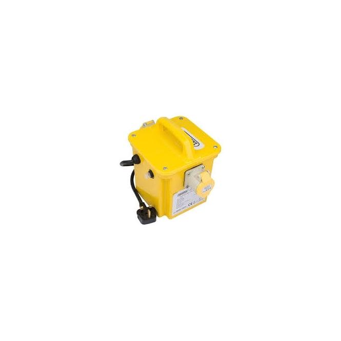 JTM DPT1500/2B 1.5KVA 230V TO 110V Portable Site Transformer