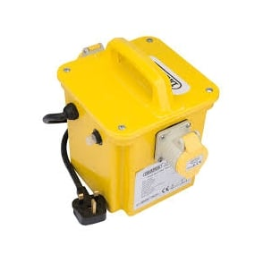 DPT1500/2B 1.5KVA 230V TO 110V Portable Site Transformer