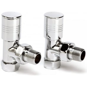 Durham Round Top Valves (Towelrail Valves)