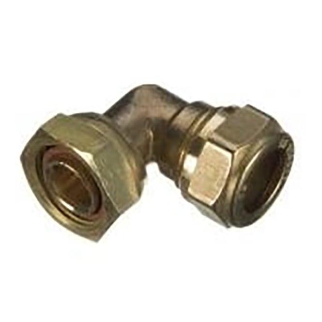 DZR compression bent tap connector