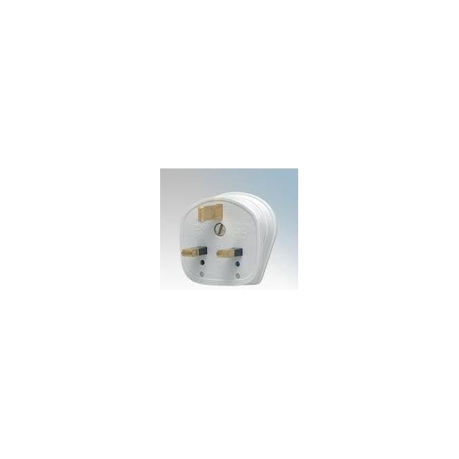 JTM Electrical 13A plug - white/fused
