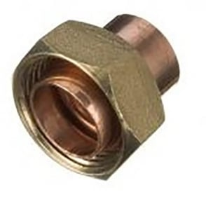 Endfeed Straight Cylinder Connector