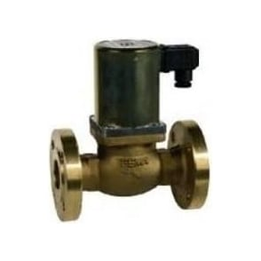 Flanged PN16 Safety Shut-off Valve Auto Reset 230Vac For Natural Gas/LPG 360mbar Max