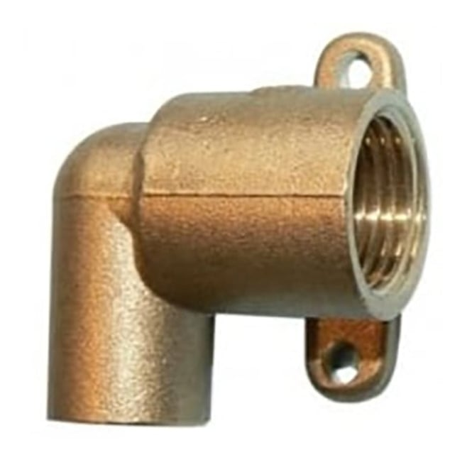 """JTM Gas cooker angle wall connector 15mm x 1/2"""""""