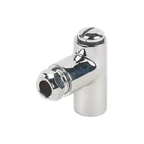 Gas Restrictor Chrome Fittings