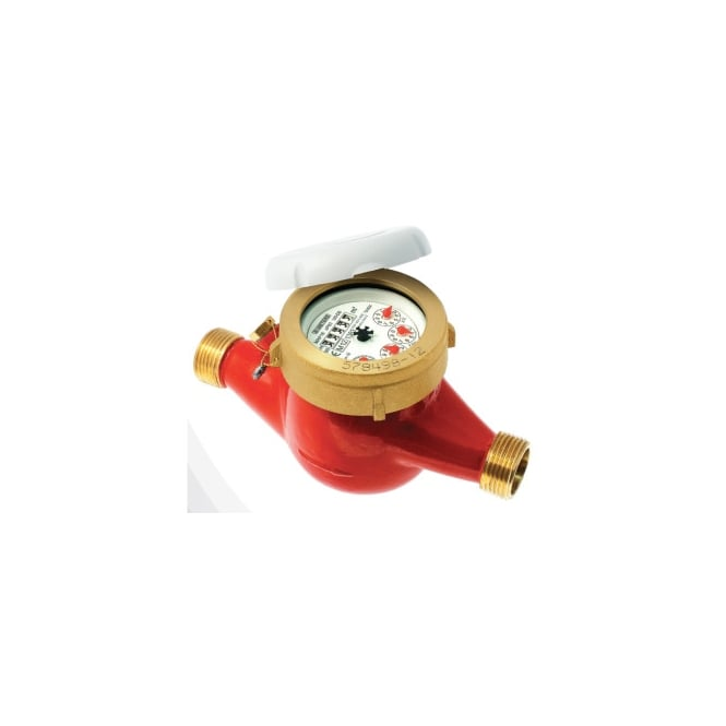 JTM GMDX-R Pulsed Hot Water Meter WRAS Approved