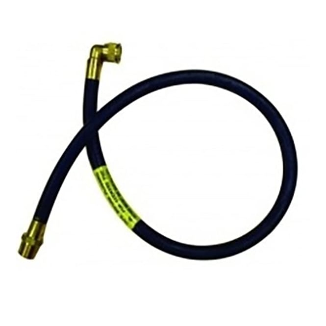 JTM Micropoint cooker hose with angle bayonet (natural gas)