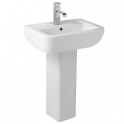 Options 600 550mm Basin and Pedestal