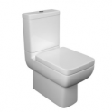 Options 600 Close to Wall Pan, Cistern and Seat
