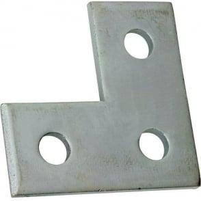 3 Hole Flat Angle Plate (L Bracket)