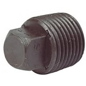 Black Hollow Plug