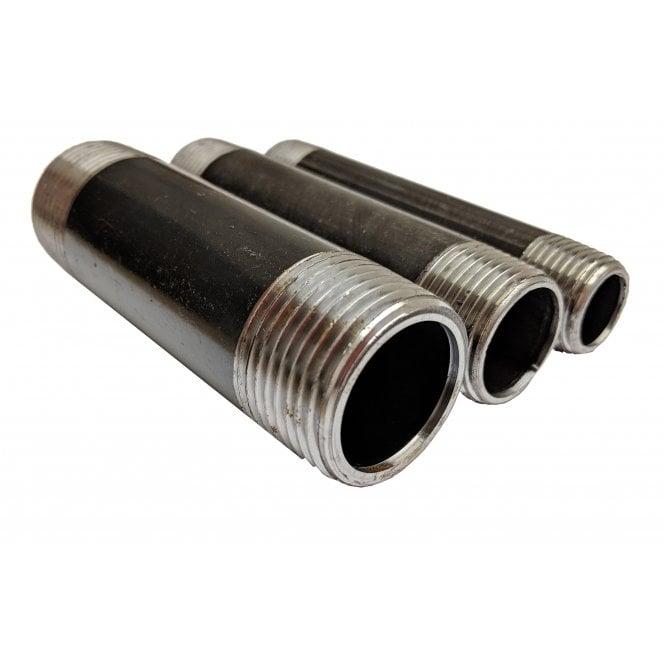 Jtm Pipeline Black Mild Steel Custom Cut Tube 3 4 28mm Od Non Returnable Malleable Galvanised Pipe Fittings Brackets From Jtm Plumbing Limited Uk