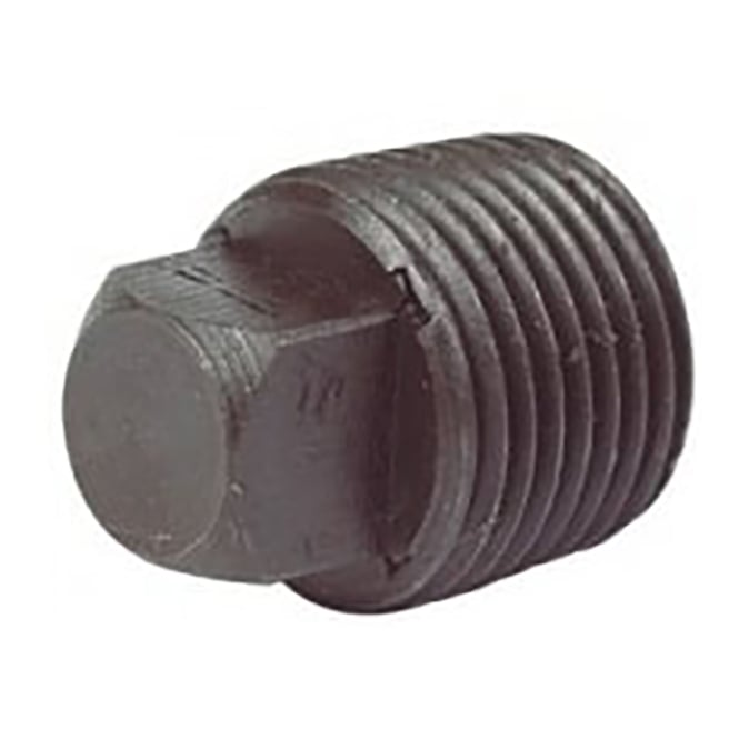 JTM Pipeline Black Solid Plug