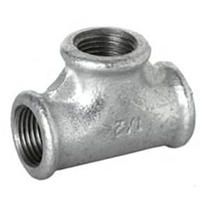 Galvanised Equal Tee BSP