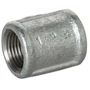 Galvanised Female Socket Taper Thread