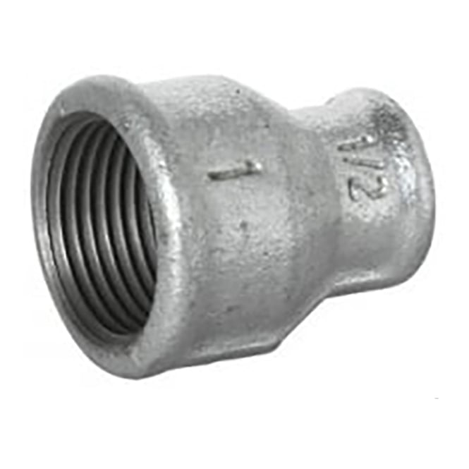 Jtm pipeline galvanised reducing concentric socket pipe