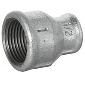 Galvanised Reducing Concentric Socket