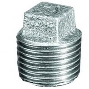 Galvanised Solid Plug