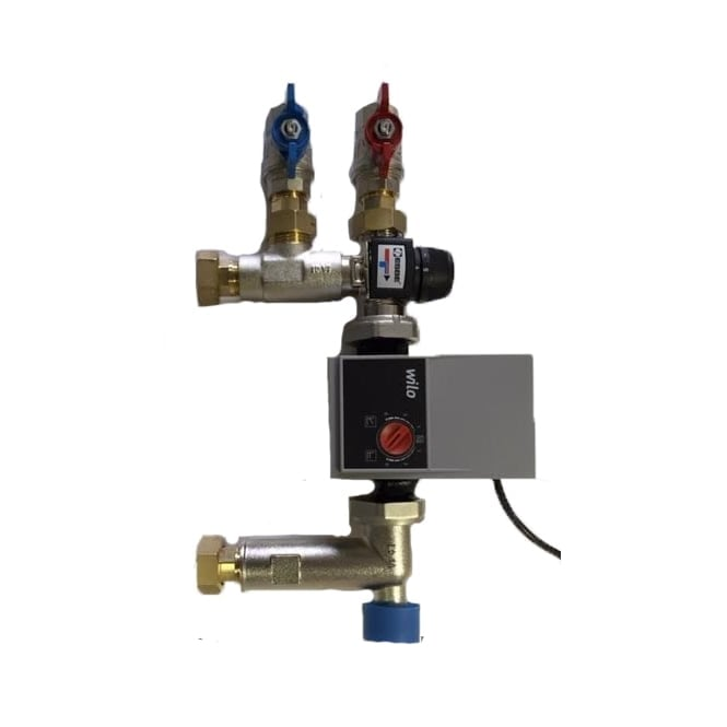 "JTM Underfloor Heating Underfloor Heating Multi Zone Pump - 22mm (3/4"") Connection INC Iso Valves"