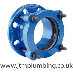Universal Flange Adaptor Epoxy Coated Ductile Cast Iron (DN50 to DN300)