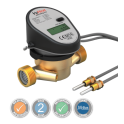 "VuHeat DN20 Compact Ultrasonic Heat Meter 3/4"""