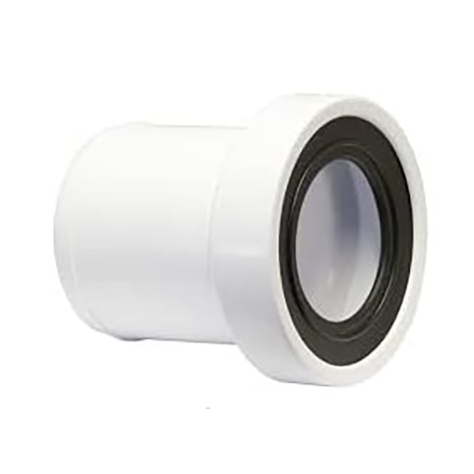 Plumber Flexible Telescoping Prop : Mcalpine straight telescopic wc pan socket extension