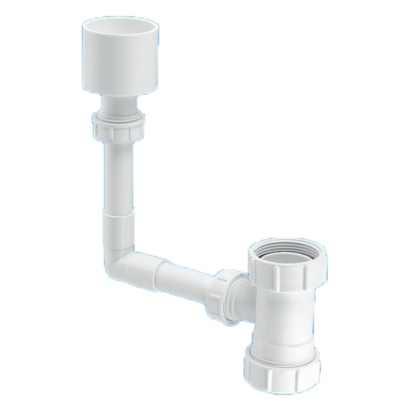 mcalpine wc overflow kit pipe fittings from jtm plumbing limited uk. Black Bedroom Furniture Sets. Home Design Ideas