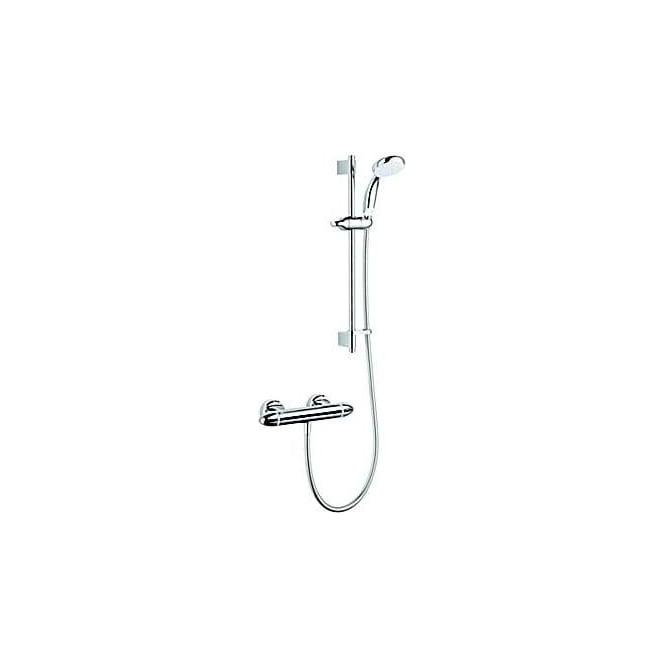 Mira Coda Pro Exposed Variable Bar Shower and Kit