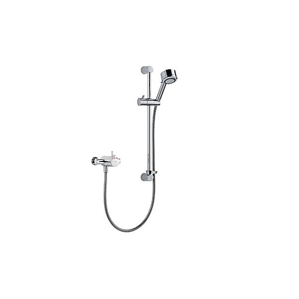 Mira Miniduo Eco Thermostatic Shower Valve Exposed With