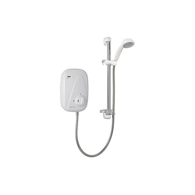 Mira Vigour Thermostatic Power Shower With Multi Mode Slide Rail Kit