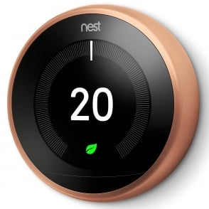 Nest Learning Thermostat 3rd Generation Copper Colour Ring - £196.50 Inc VAT