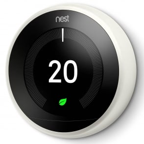 Nest Learning Thermostat 3rd Generation White Colour Ring