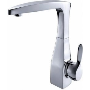 Art Nouveau Side Action Monobloc Sink Mixer