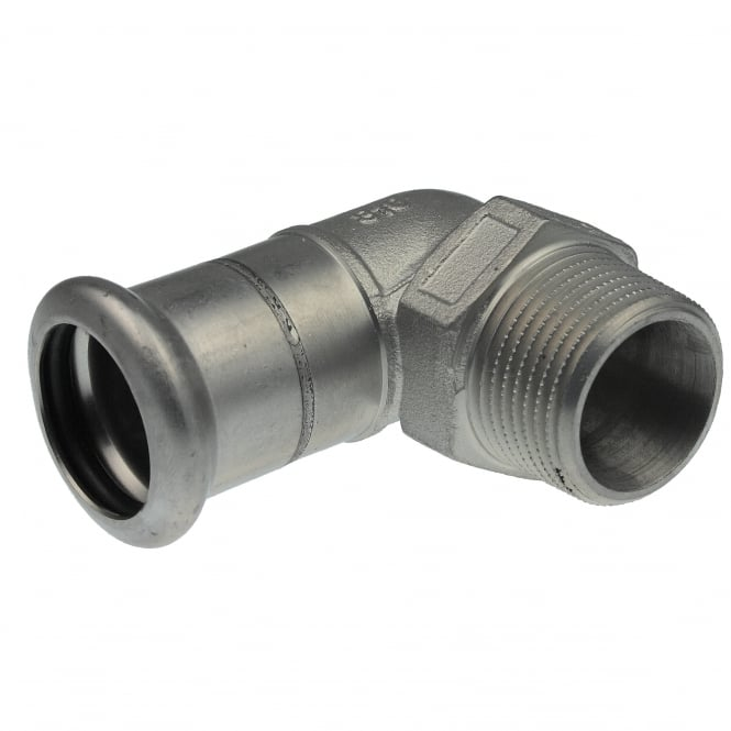 Pegler Yorkshire Xpress SS13 Xpress Stainless Steel Male Elbow BSP Taper Thread
