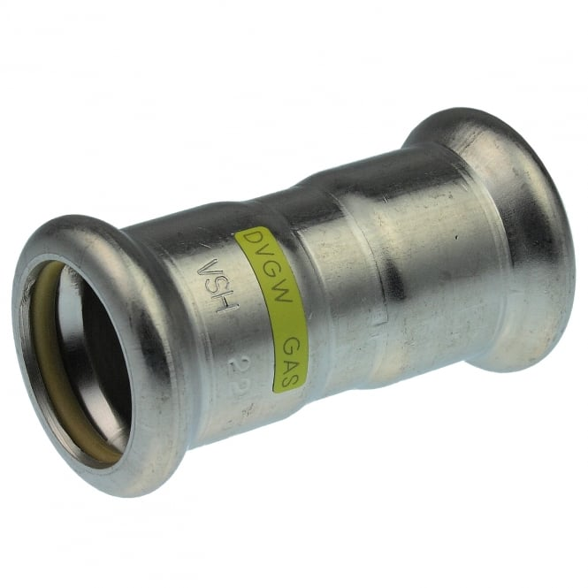Pegler Yorkshire Xpress SSG1 Gas Stainless Steel Press Coupling