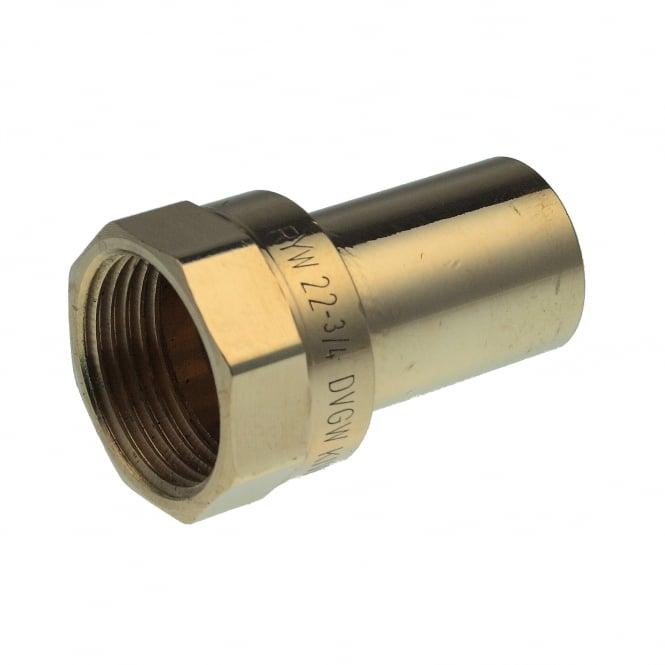 Pegler Yorkshire Xpress Xpress Copper S7 Press Fem Adaptor