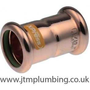 Xpress Copper Solar Press Coupling 15mm - 54mm