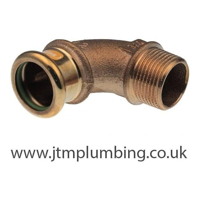Pegler Yorkshire Xpress Xpress Copper Solar Press Male Elbow