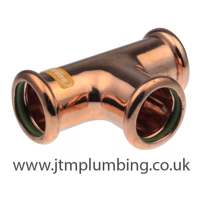 Pegler Yorkshire Xpress Xpress Solar Copper Press Equal Tee
