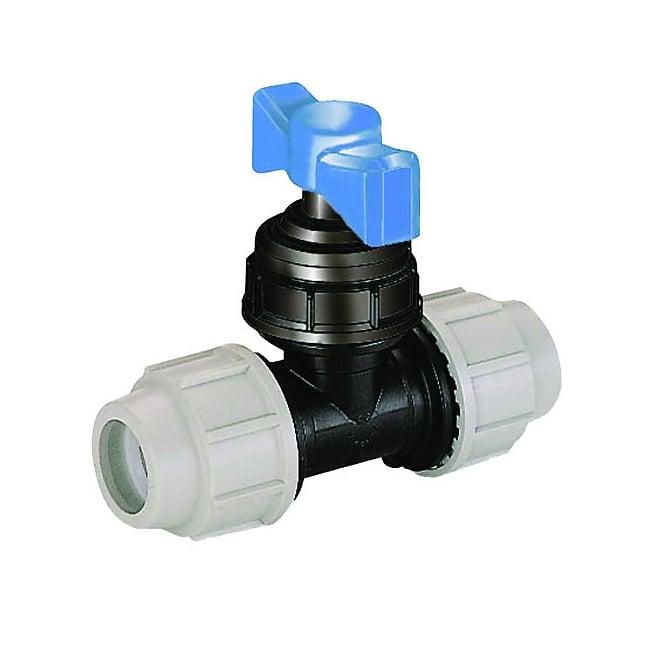 Plasson 3407 Plastic Stoptap Compression Ends