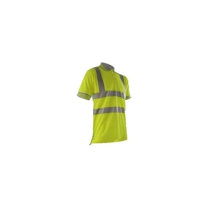 Portwest Yellow Hi Vis Polo Shirt