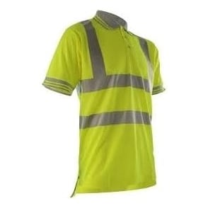 Yellow Hi Vis Polo Shirt