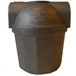 Oil filter - metal bowl