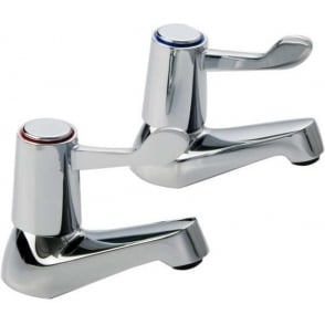 Lever Bath Pillar Taps
