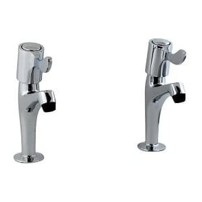 Lever Sink Pillar Taps
