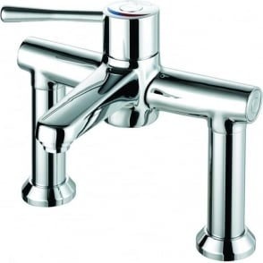 Caremix H3 Deck Mounted 2 Hole TMV3 Approved Thermostatic Taps