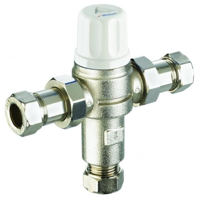 Industrial Thermostatic Mixing Valve: Reliance Water Controls (RWC) Heatguard Dual Thermostatic